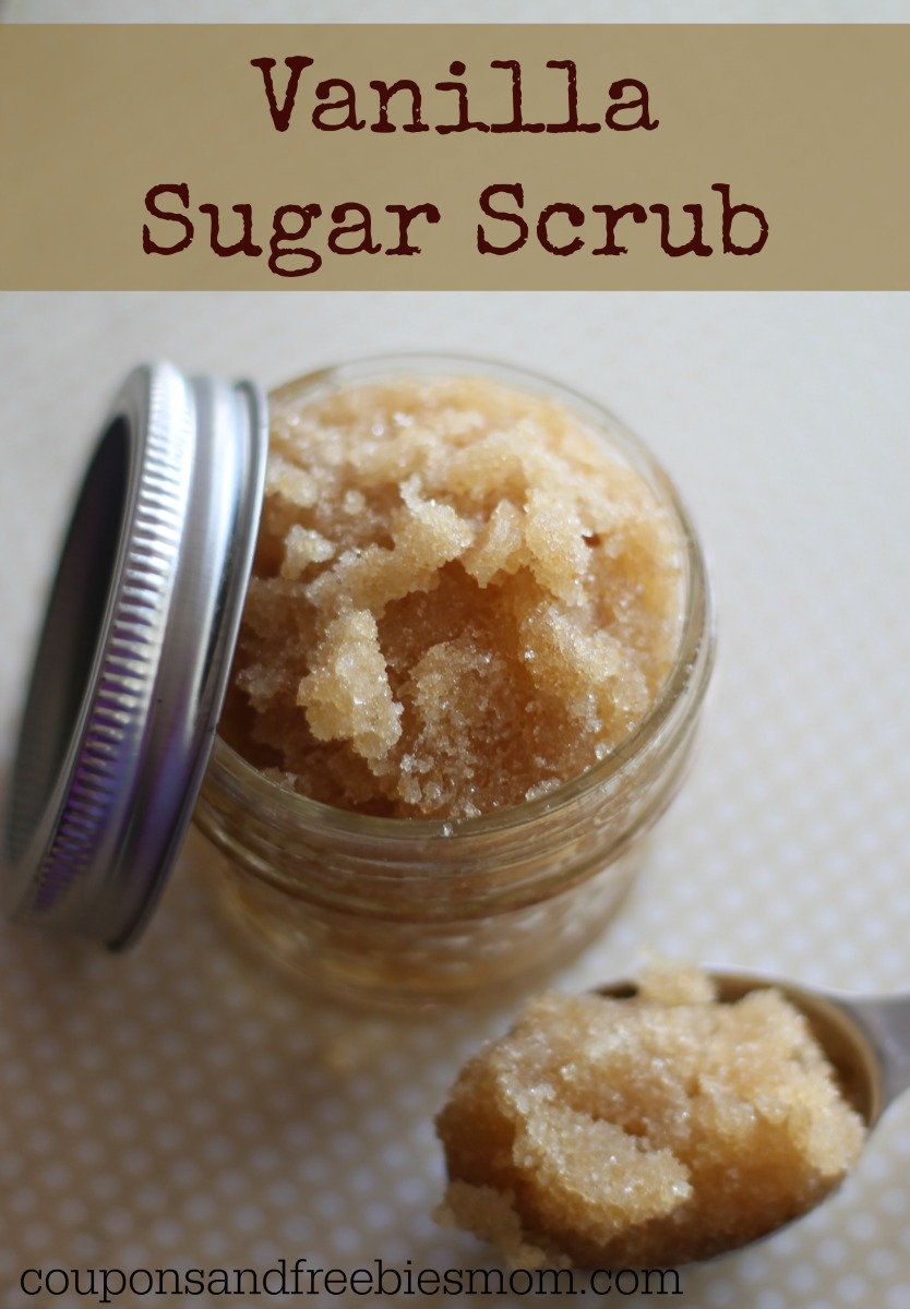 Homemade Vanilla Sugar Scrub
