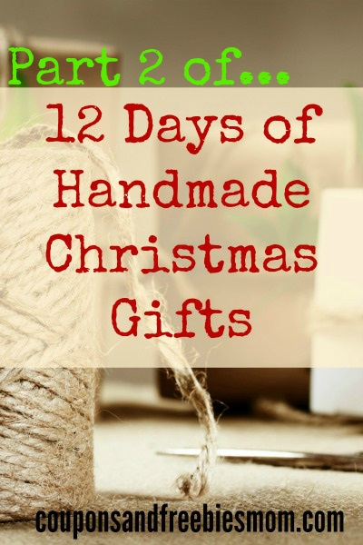 12 days handmade christmas gifts part 2 green paint