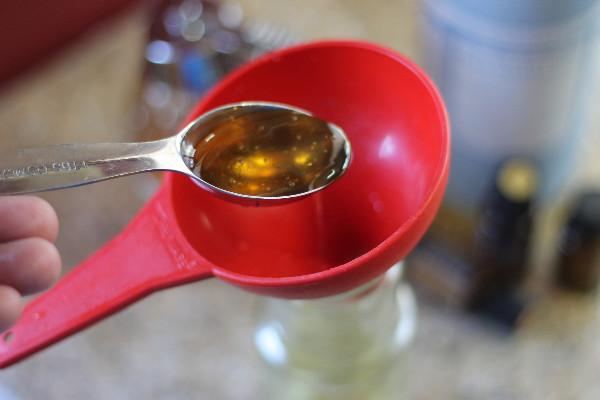 homemade citrus shampoo honey