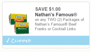 picture regarding Nathans Hot Dog Printable Coupons titled Nathans Warm Puppies At Walmart Prices of the Working day