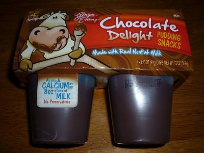 chocolate pudding small