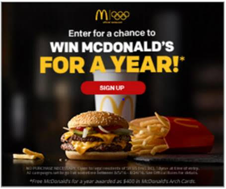 Hurry Win 1 Year Of Free Mcdonalds Food Coupons And Freebies Mom