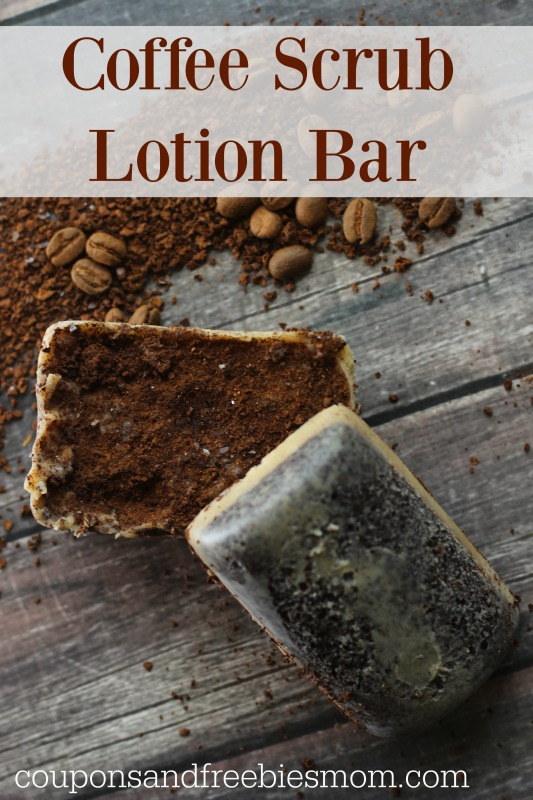 Coffee Scrub Lotion Bars