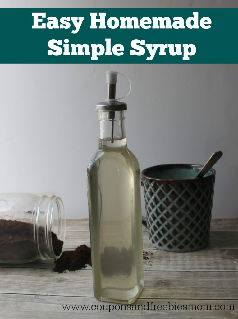 Easy Homemade Flavored Coffee Syrups