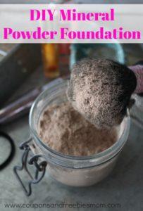 DIY Mineral Powder Foundation
