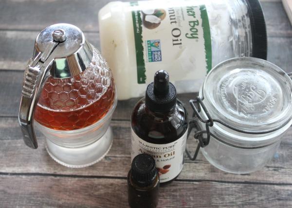DIY Strengthening Lavender Nail Soak