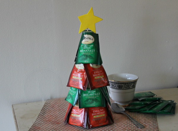 Tea Bag Christmas Tree Craft Example