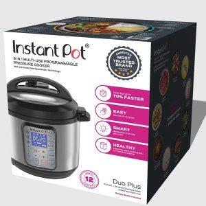 Instant Pot DUO Plus 6 Qt 9-in-1 Multi- Use Cooker