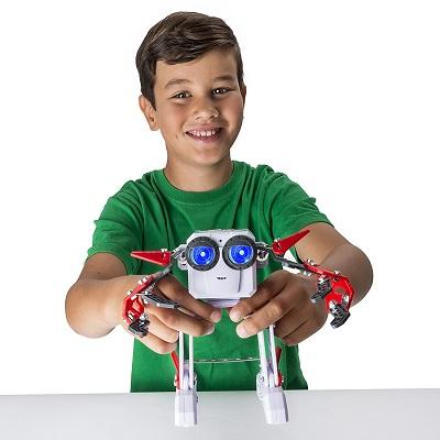 Micronoid Red Socket Robot Kit