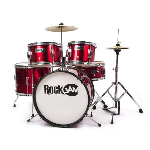 RockJam Complete 5-Piece Junior Drum Set