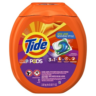 Tide PODS 3-in-1 HE Turbo Laundry Detergent Pacs