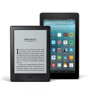 Kindle E-reader & Fire 7 Bundle