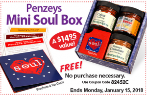 Penzeys coupon code