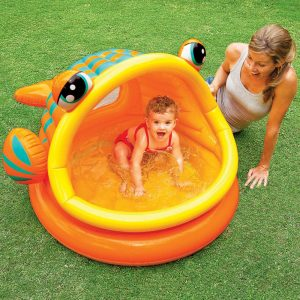 Intex Lazy Fish Baby Shade Pool $12 52 - Coupons and
