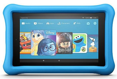kids kindle fire blue lowest price