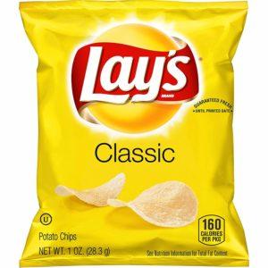 40ct. Batata Frita Clássica Lay's $ 10,62 2