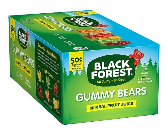 Amazon Deal: 24ct. Ursinhos de goma da Floresta Negra $ 9.82 3