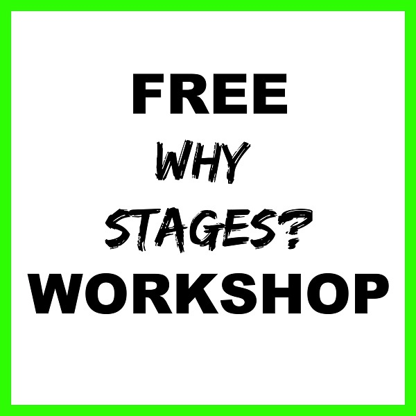 Pete Vargas Free Workshop Why Stages