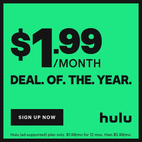 Hulu Deal of the Year