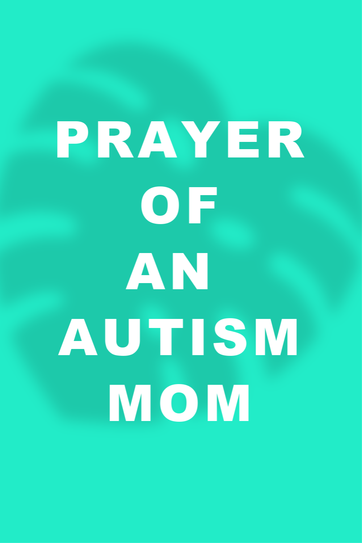 Prayer of an Autism Mom