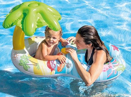 Intex meu primeiro flutuador inflável do bebê da nadada $ 8.97