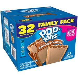 32ct. Pop-Tarts de canela com açúcar mascavo 1