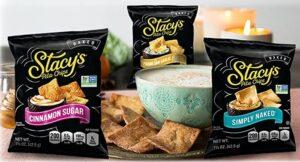 24 Pacotes de Snack para Variedades de Pita Chips da Stacy