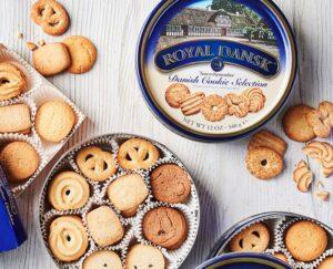 24oz de lata de Royal Dansk Cookies de manteiga dinamarqueses $ 5.56 15