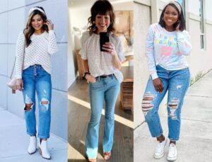 Jeans femininos tão baixos quanto $ 15 em Target.com 1